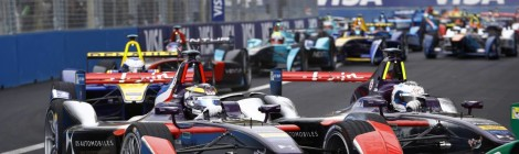 A DS no pódio do EPrix de Paris