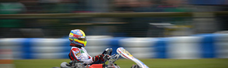 Yohan Sousa na Final do Europeu KZ2