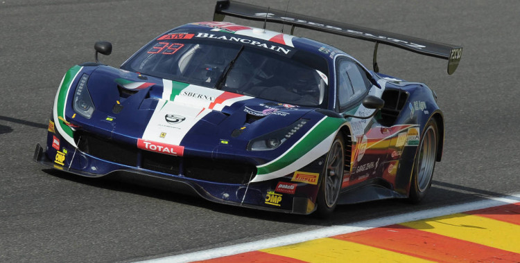 Francisco Guedes sai de segundo para as 24h de Spa