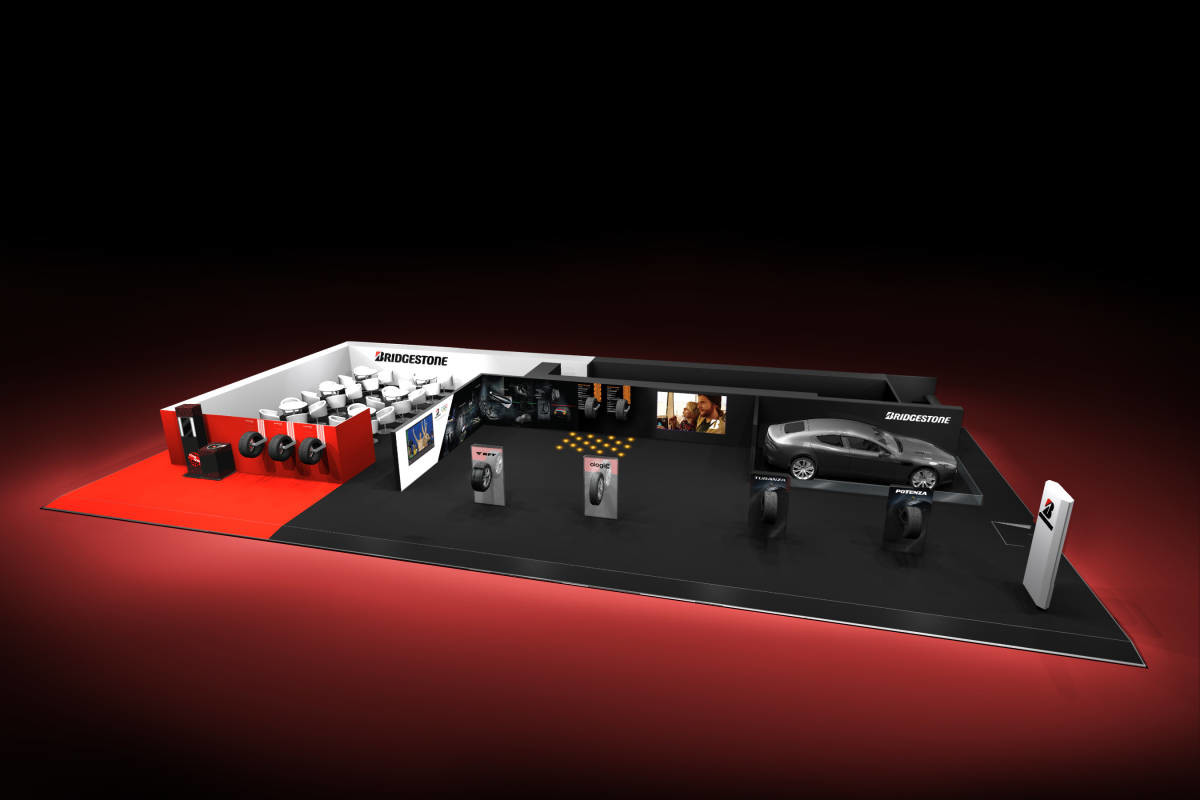 BS booth at GIMS2017