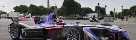 DS Virgin Racing prepara-se para electrificar Paris