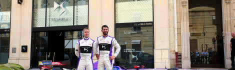 DS Virgin Racing sobe ao pódio em Paris