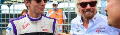 Alex Lynn com Sam Bird na DS Virgin Racing
